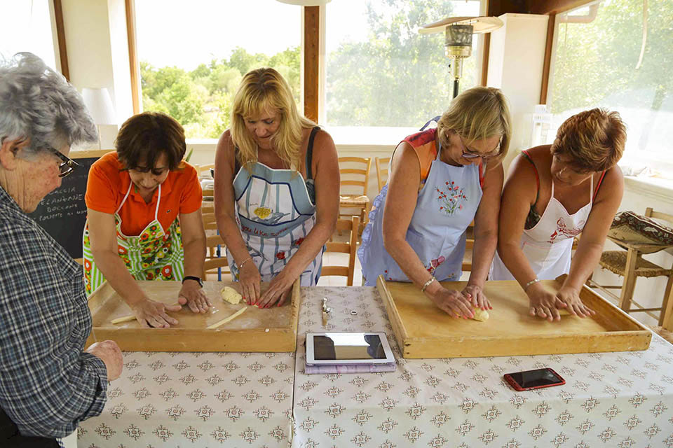 Learn italian and cooking